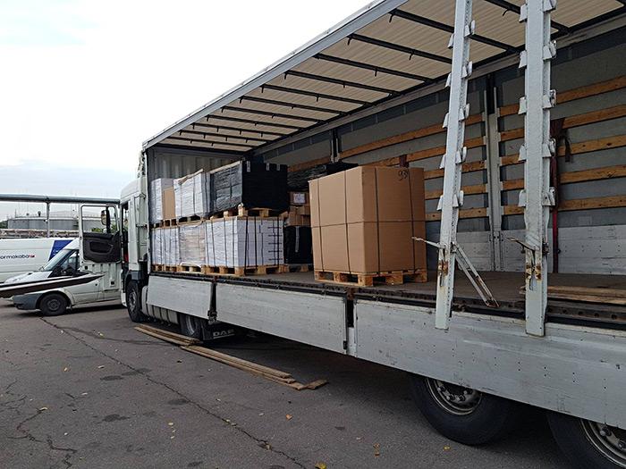 Перевозка фурнитуры из Германии в Россию