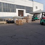 Transportation of fittings from Germany to Russia