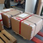 Transportation of microscopes from Germany to Moscow