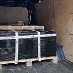 Transportation of pumps from Belgium to Moscow