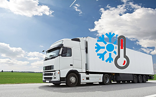 Transportation of goods with temperature control